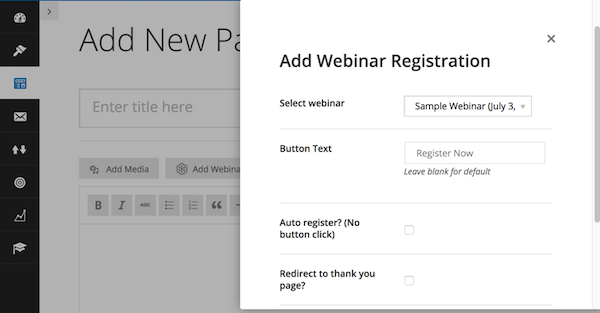 GoToWebinar integration 3