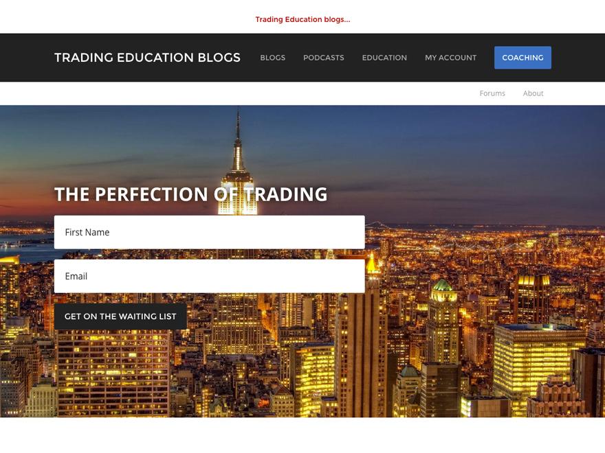 TradingEducationBlogs.com